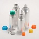 Aluminium bottles cap options